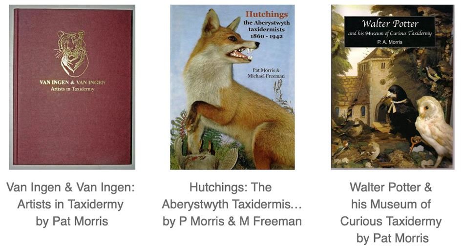 Taxidermy History books